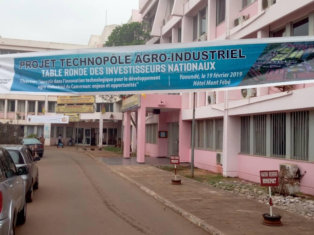 Table ronde sur le projet de technopole agro industriel
